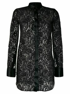 Philipp Plein lace shirt - Black