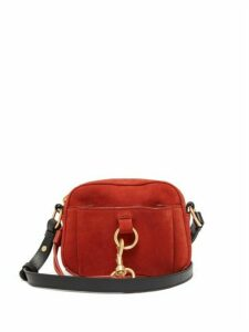 See By Chloé - Tony Suede And Leather Cross-body Bag - Womens - Red
