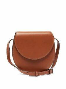 Hunting Season - The Saddle Leather Bag - Womens - Tan