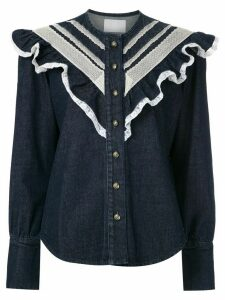 Andrea Bogosian Poti denim shirt - Blue