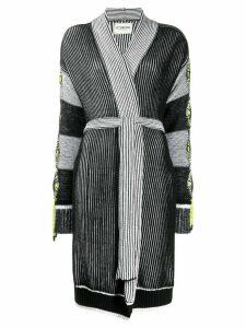 Iceberg knitted cardigan - Black