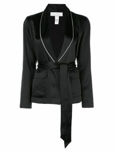 Fleur Du Mal smoking jacket - Black