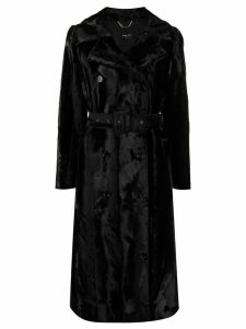 Paltò belted coat - Black