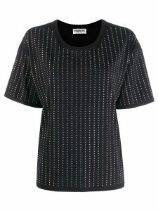 Essentiel Antwerp diamante stripe t-shirt - Black