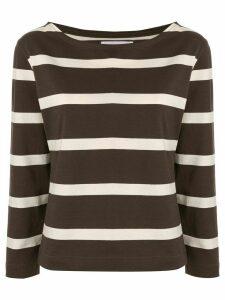 Margaret Howell striped print T-shirt - Green