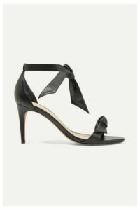 Alexandre Birman - Clarita Bow-embellished Leather Sandals - Black