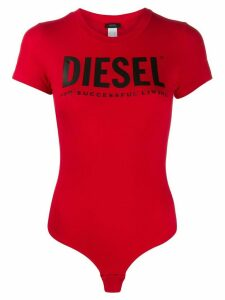 Diesel logo print body - Red
