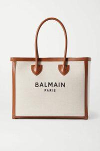 Balenciaga - Printed Silk-jacquard Blouse - White