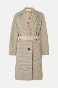 Vanessa Bruno - Iambo Belted Cotton-tweed Coat - Cream