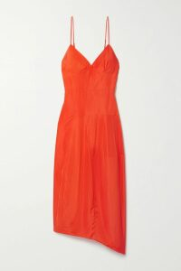SAINT LAURENT - Striped Knitted Hoodie - Ivory