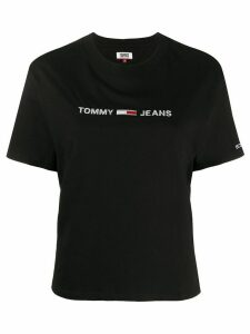 Tommy Jeans branded T-shirt - Black