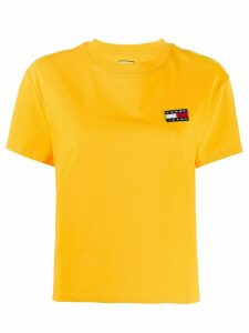 Tommy Jeans embroidered T-shirt - Yellow