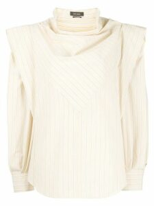Isabel Marant deconstructed blouse - NEUTRALS