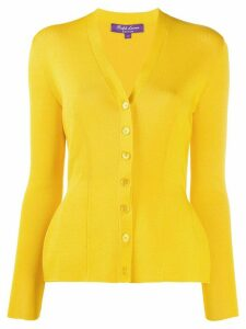 Ralph Lauren Collection knitted cardigan - Yellow