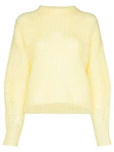 Isabel Marant Inko knit jumper - Yellow