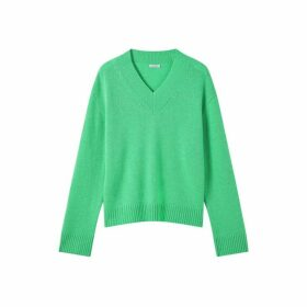 Jigsaw Boxy V Neck Jumper