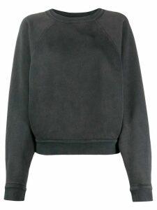 Isabel Marant Étoile boxy crewneck sweatshirt - Black