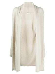 The Row open-front knit cardigan - NEUTRALS