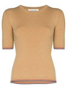 Thom Browne ribbed-knit T-shirt