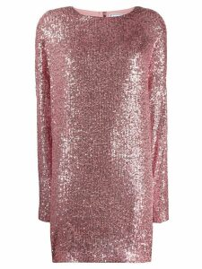 In The Mood For Love Alexandra sequin shift dress - PINK