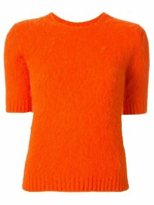 Ralph Lauren Collection slim-fit knitted jumper - ORANGE
