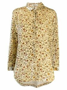 Mes Demoiselles floral print shirt - NEUTRALS