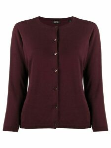 Aspesi round-neck cardigan - Red