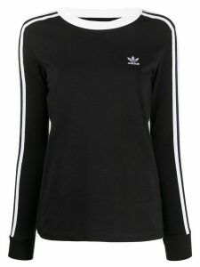 adidas 3-Stripes long-sleeve top - Black
