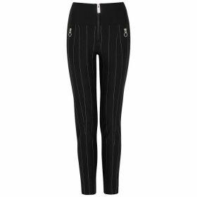 HIGH Minimalist Pinstriped Jersey Trousers
