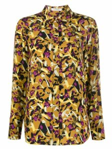 Dorothee Schumacher abstract print shirt - Brown