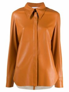 Nanushka Noelle shirt - Brown