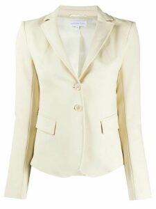 Patrizia Pepe plain fitted blazer - NEUTRALS