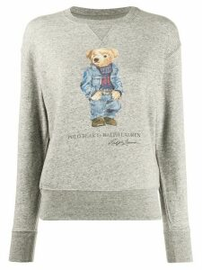 Polo Ralph Lauren Polo Bear-print sweatshirt - Grey