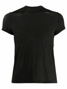 Rick Owens mesh T-shirt - Black