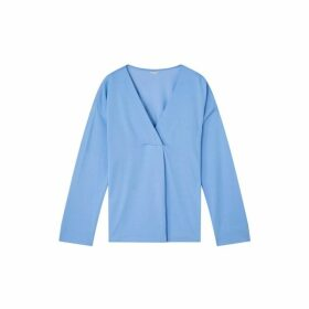 Jigsaw Slinky Stitch Placket Blouse