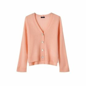 Jigsaw Cloud 7 Cashmere Boxy Cardigan