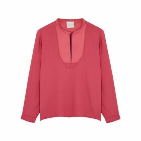 Forte forte Pink Crepe Blouse