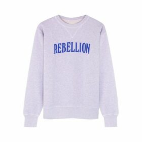 Isabel Marant Étoile Rise Printed Cotton-blend Sweatshirt