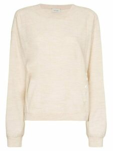 Lemaire button-detailed jumper - NEUTRALS