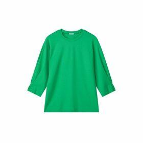 Jigsaw Pleated Cuff Sweatshirt
