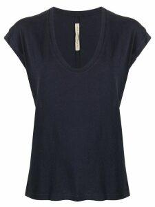 Raquel Allegra cap sleeve T-shirt - Blue