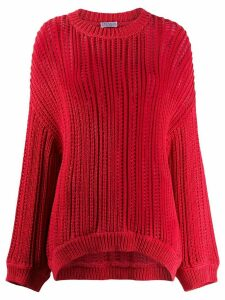 Brunello Cucinelli textured jumper - PINK