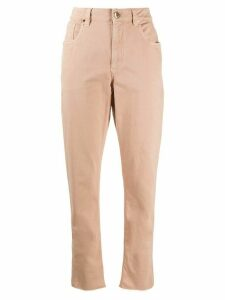 Brunello Cucinelli high-waisted trousers - PINK