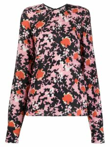 Marni abstract-print blouse - PINK