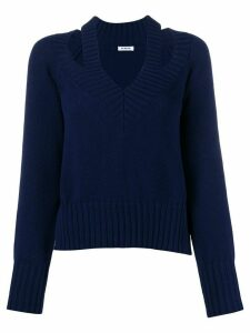 P.A.R.O.S.H. slit detail jumper - Blue