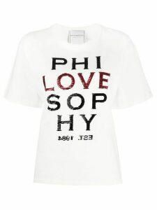 Philosophy Di Lorenzo Serafini Love T-shirt - White