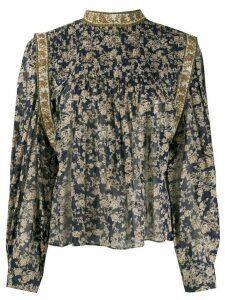 Isabel Marant Étoile Vega floral print blouse - Blue