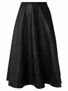 Lee Mathews Phoebe A-line skirt - Black
