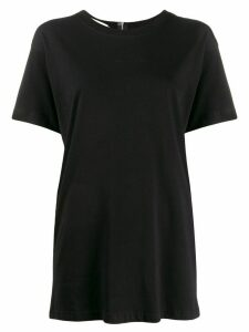 1017 ALYX 9SM slit back zipped T-shirt - Black