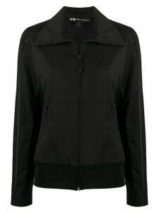 Y-3 zip-up track jacket - Black